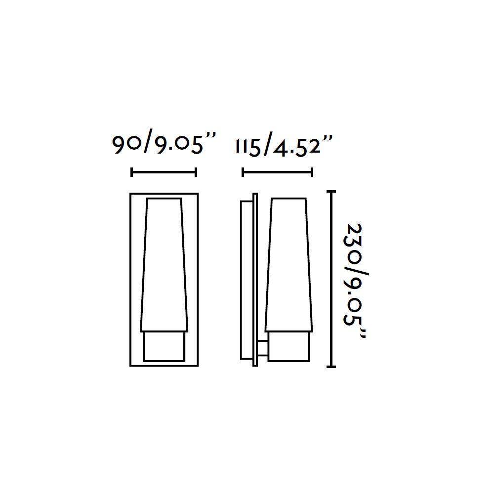 Doka applique chrom e et verre ip 44 pour ampoules e14 for Applique hublot salle de bain