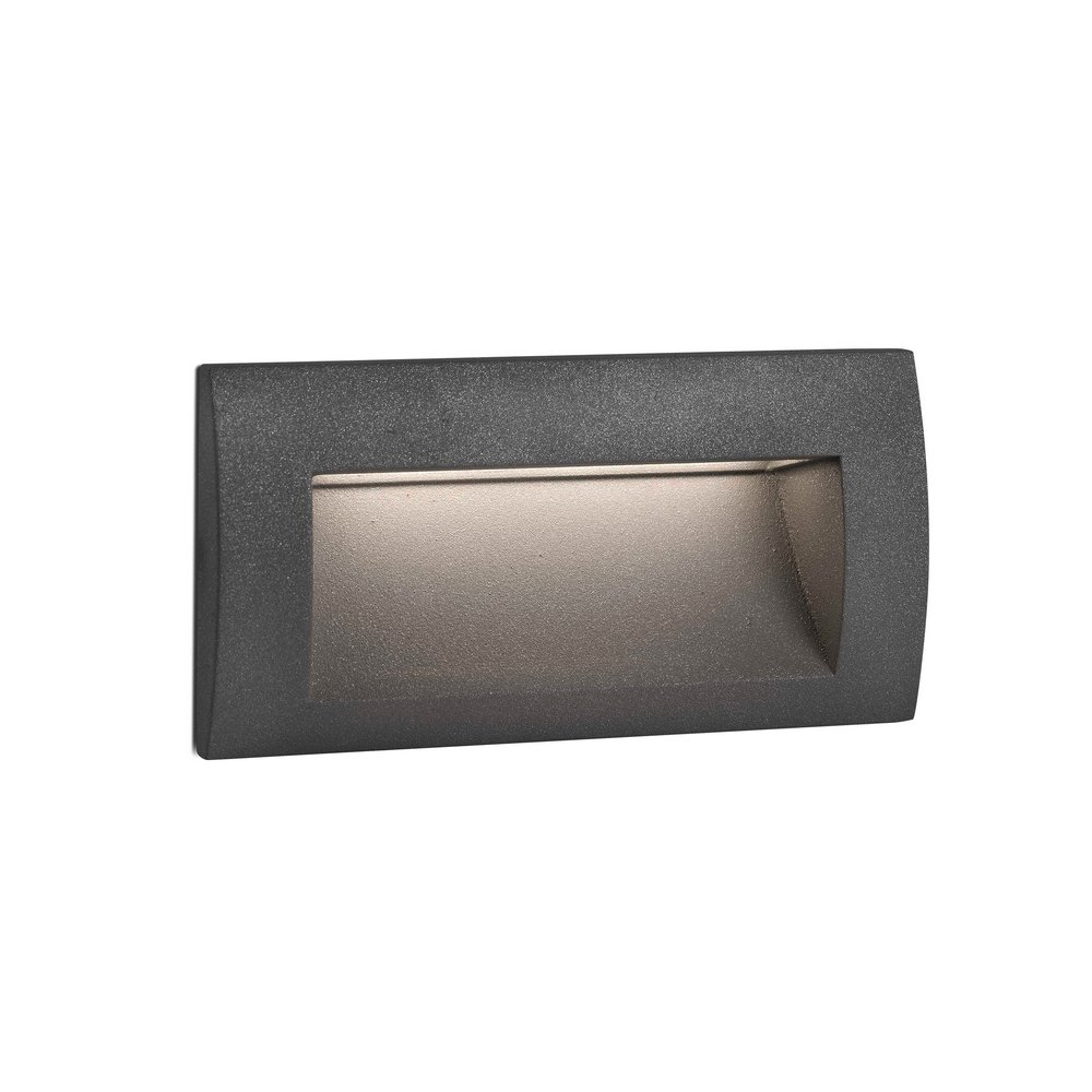 Sedna 2 encastr mural led eclairage indirect de for Luminaire mural exterieur led