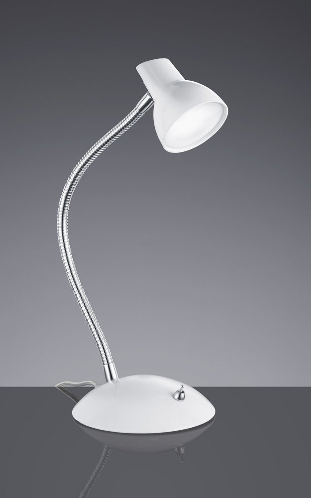 kolibri lampe de bureau flexible led blanche. Black Bedroom Furniture Sets. Home Design Ideas