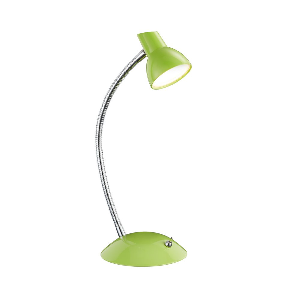 Kolibri lampe de bureau flexible led verte for Lampe de bureau verte