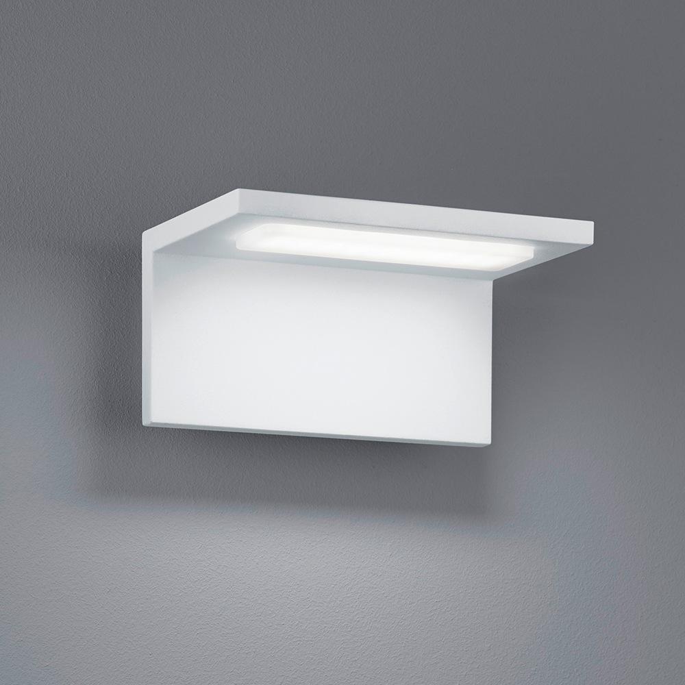 Trave applique led exterieur blanche 6 5w - Applique exterieur blanche ...