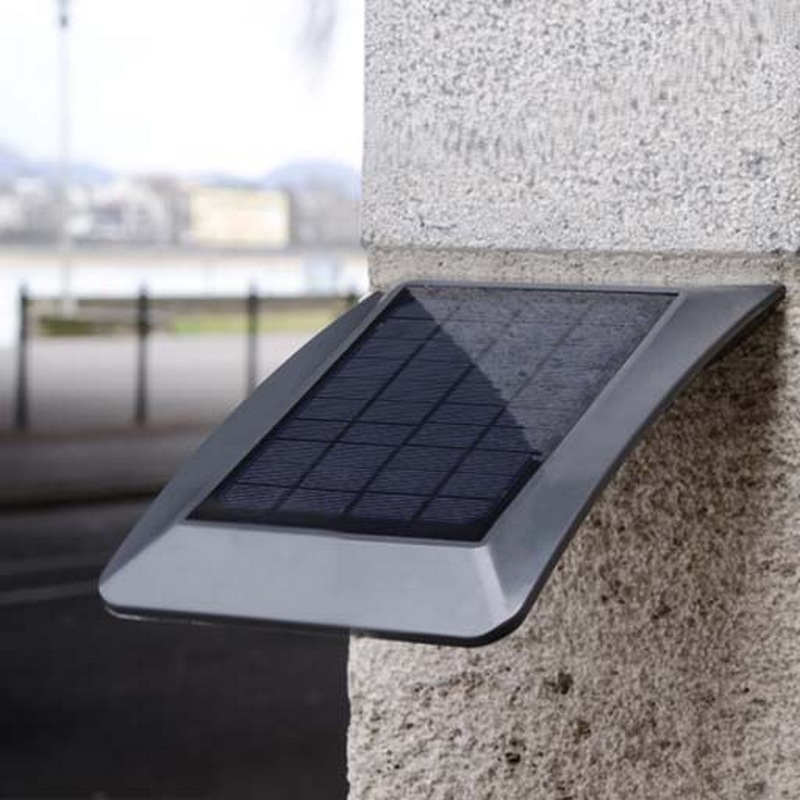 zerta applique solaire ext rieure 3 w. Black Bedroom Furniture Sets. Home Design Ideas