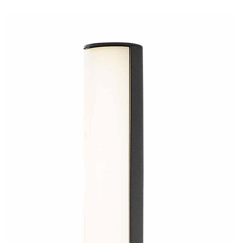Beret 3 borne led hauteur 1800 mm faro 75524 for Eclairage exterieur usine