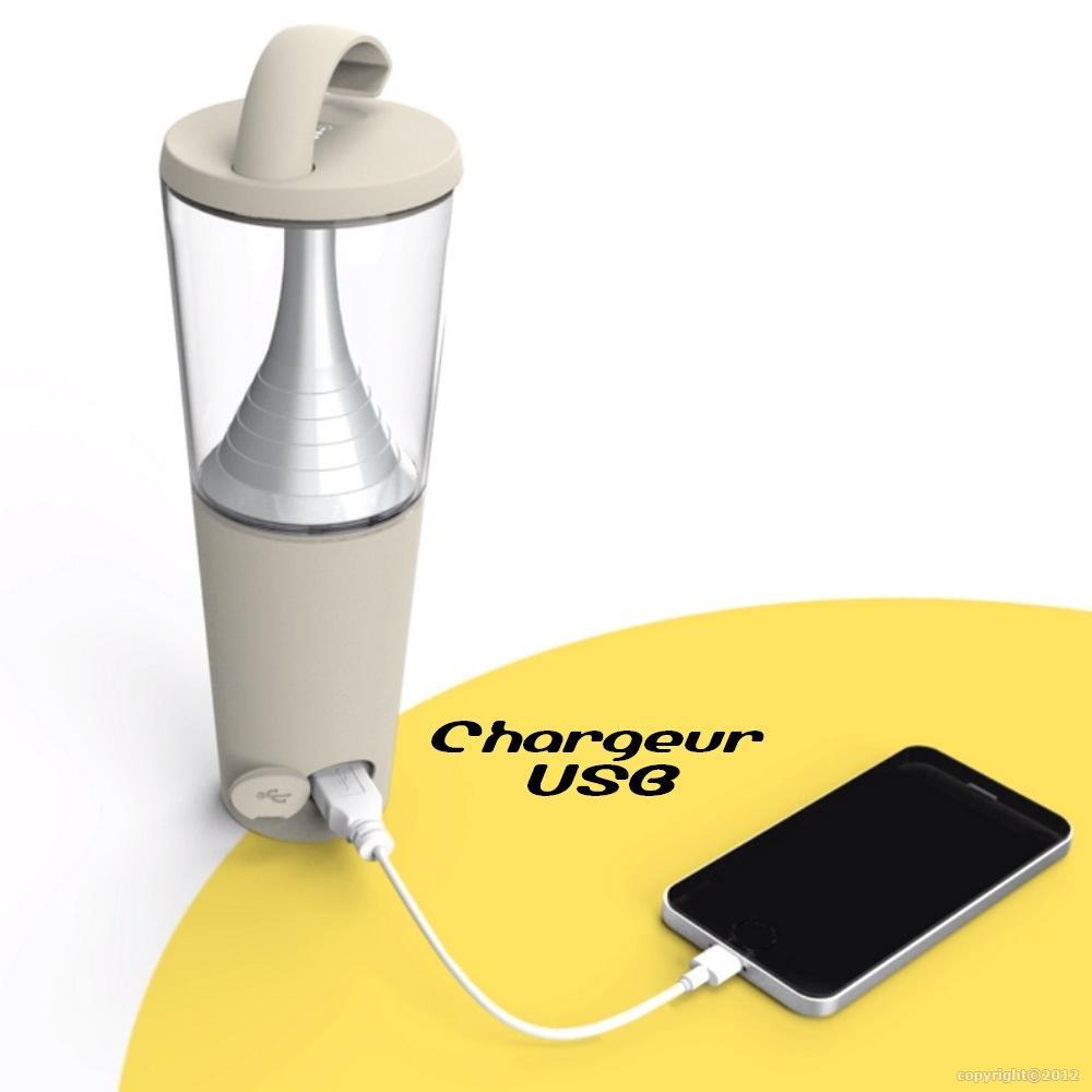 lampe de table portable autonome energie solaire. Black Bedroom Furniture Sets. Home Design Ideas