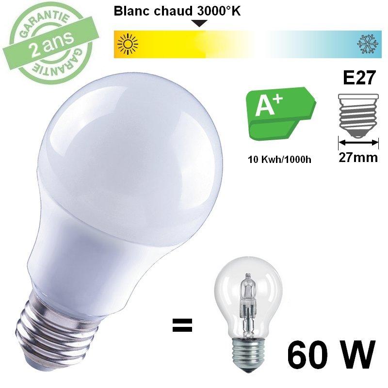 AMPOULE LED STANDARD 10W BC 810 lumens