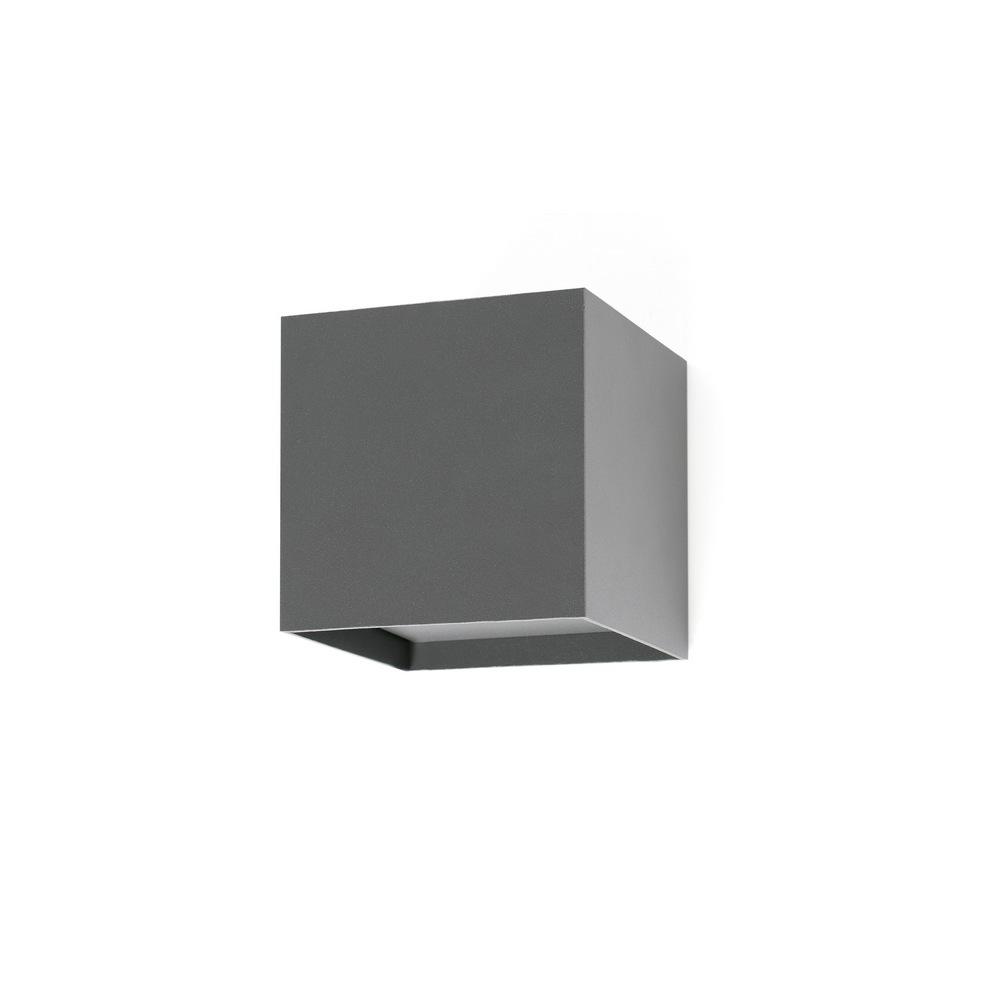 olan led applique led exterieur anthracite 5w faro. Black Bedroom Furniture Sets. Home Design Ideas