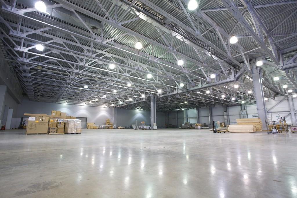 L'éclairage d'entrepôt