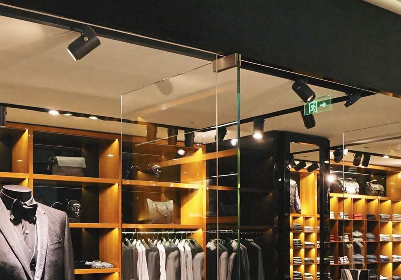 Eclairage de magasin