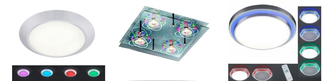 Plafonnier LED RGB