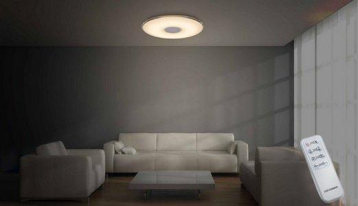 Plafonnier LED dimmable couleur ajustable