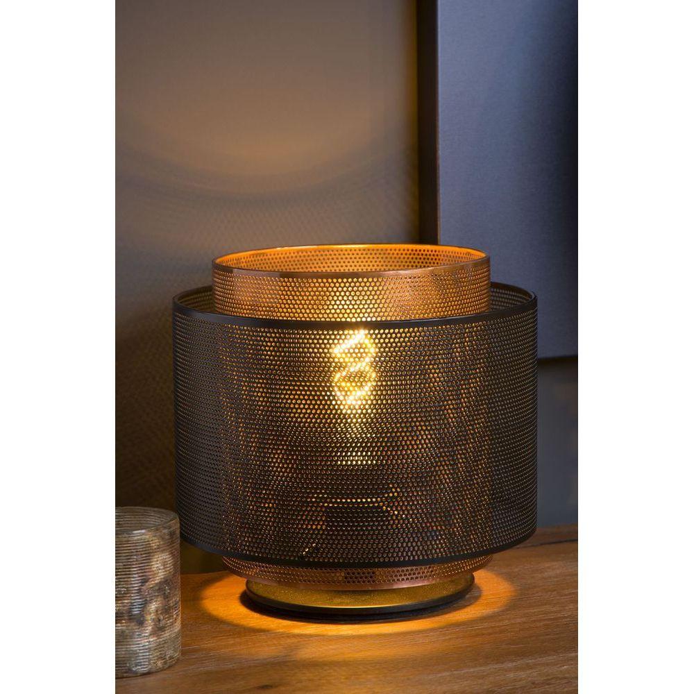 Orrin Noire Lucide Lampe Table Intérieur De 025040130 NmnvwO08