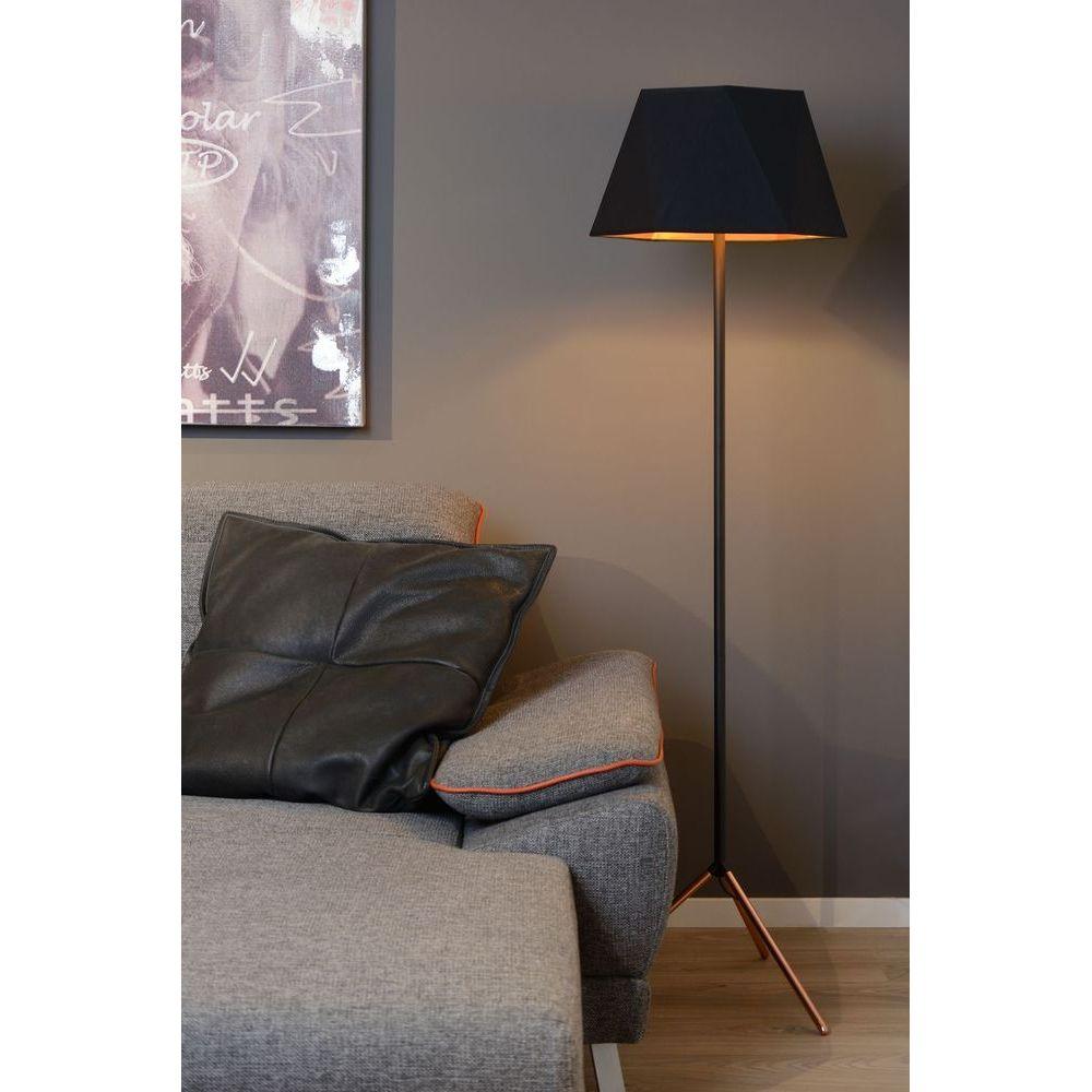 Lucide Lampadaire Alegro Intérieur Noir 067170130 fIbY7vm6gy