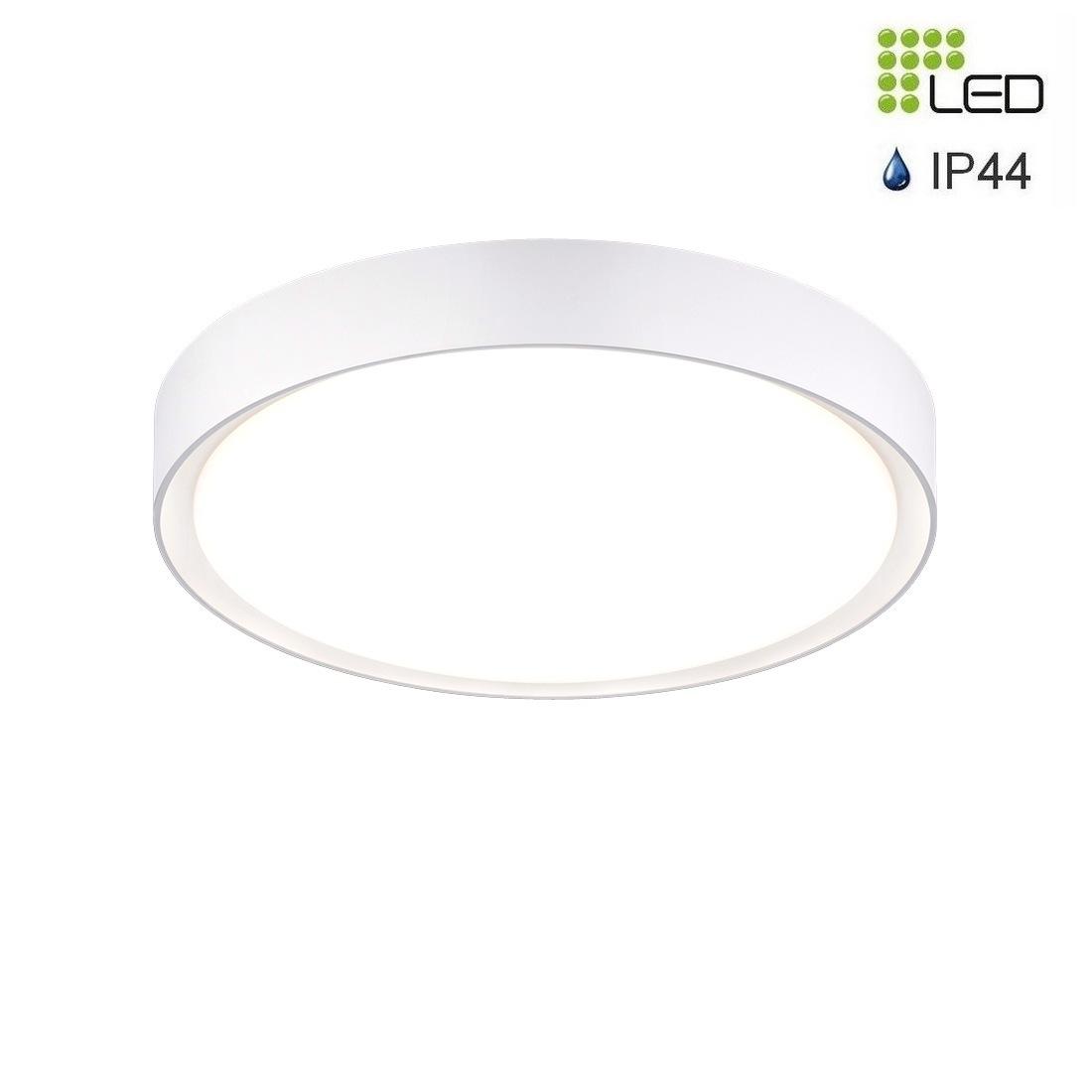 Plafonnier LED blanc IP44 18W  1600 lumens 3000aK 5 Bon Marché Plafonnier Led Blanc Zzt4