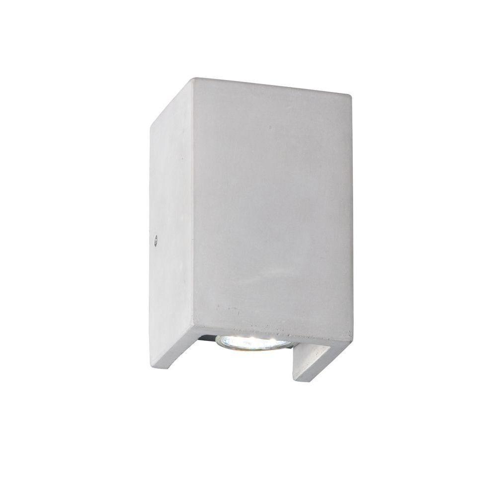 Trio 206600278 Applique Cube Couleur Béton Intérieur Ac4q5R3jL