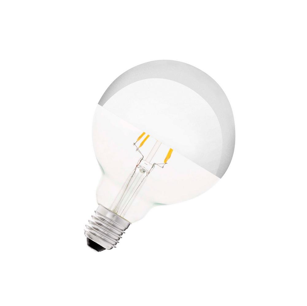 2700°k À Calotte 4w Lumens Led Ampoule Argenté 400 Globe TZOuwlPXik