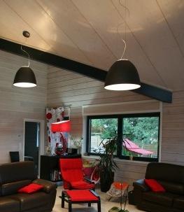 Eclairage du salon et eclairage de la salle à manger