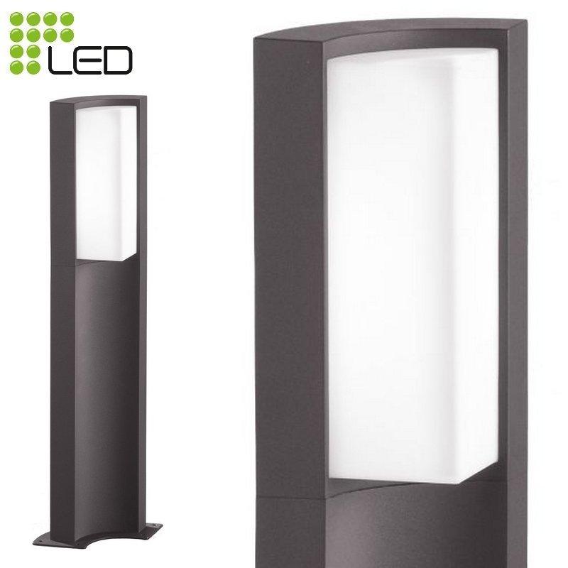 SUEZ Borne LED extérieure gris anthracite 6W H60 7a2bfa23949e